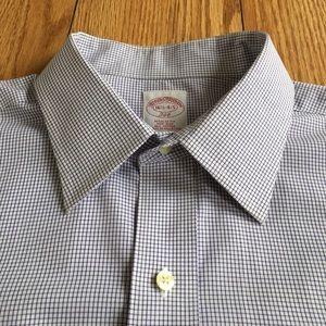 Brooks Brothers 346 Micro Box Check Dress Shirt